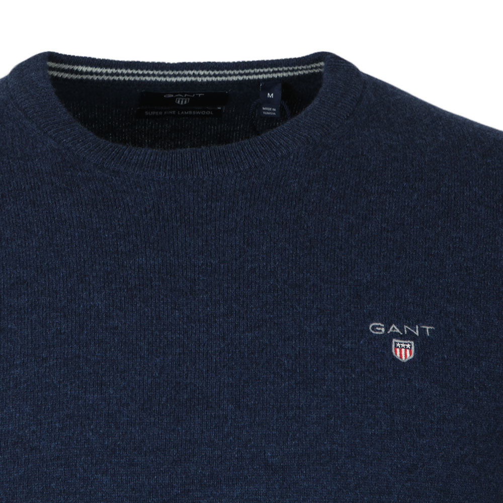 Super Fine Lambswool Crew Jumper main image