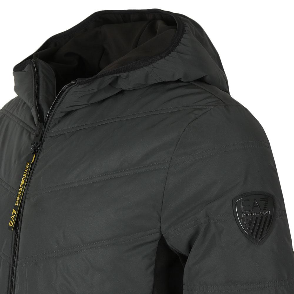 c46f024562 Mens Grey Reflective Down Jacket