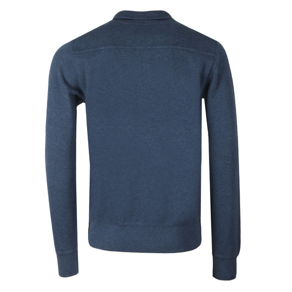 Gant Mens Blue Sacker Rib Half Zip main image