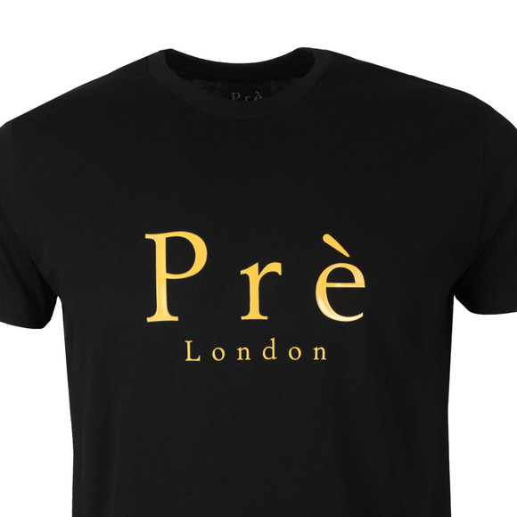 Pre London Mens Black Signature T Shirt main image