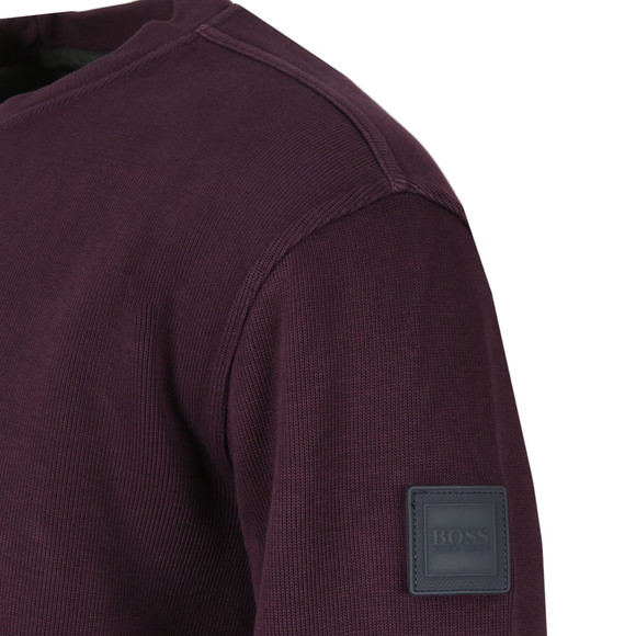 BOSS Mens Purple Casual World Sweatshirt