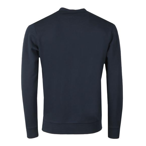 BOSS Casualwear Mens Blue Wolflike Sweatshirt main image