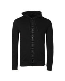 HUGO Mens Black Daple-U2 Full Zip Hoody