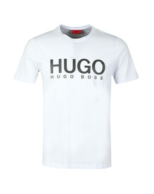 HUGO Mens White Dolive T Shirt