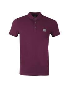 BOSS Mens Purple Casual Passenger Polo Shirt