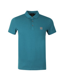 BOSS Casualwear Mens Blue Passenger Polo Shirt