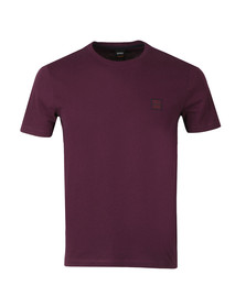 BOSS Casualwear Mens Purple Tales T Shirt