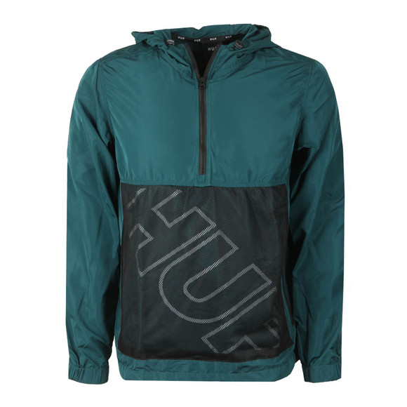 HUF Mens Green Wire Frame Anorak main image