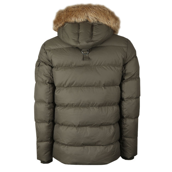 Pyrenex Mens Green Authentic Jacket With Fur main image