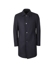 HUGO Mens Blue Mitask1911 Wool Jacket