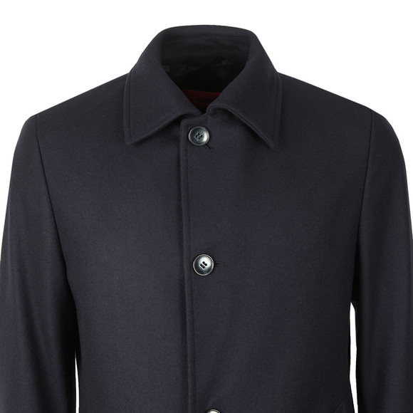 HUGO Mens Blue Mitask1911 Wool Jacket main image