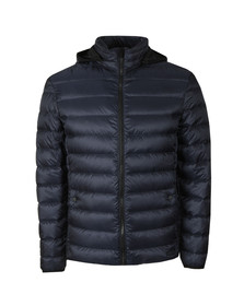 HUGO Mens Blue Balin1841 Puffer Jacket