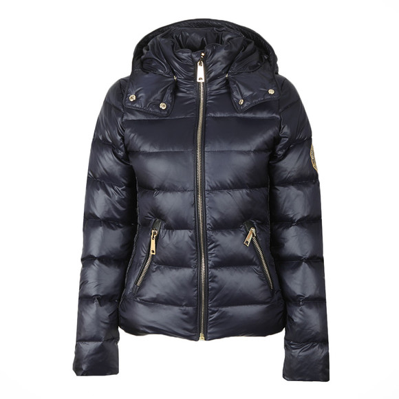 Holland Cooper Womens Blue The Megeve Padded Coat main image