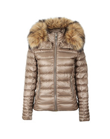 Holland Cooper Womens Brown The Zermatt 2 Padded Coat