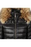 Holland Cooper Womens Black The Zermatt 2 Padded Coat