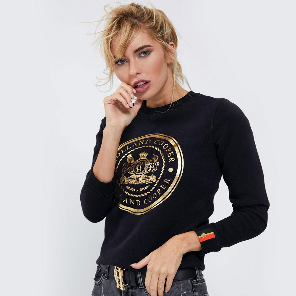 Sportswear Luxe Crest Crew Sweat main image