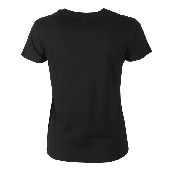 Holland Cooper Womens Black Sportswear Luxe Crest Tee main image