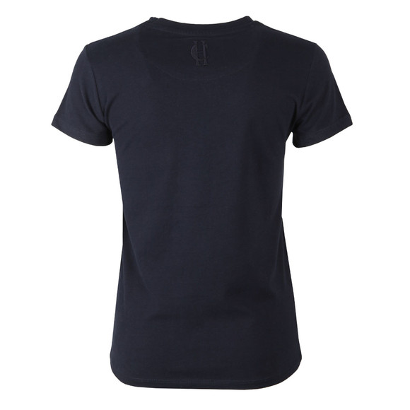 Holland Cooper Womens Blue Sportswear Luxe HC Tee main image