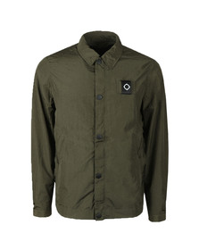 Ma.Strum Mens Beige Eagle Jacket
