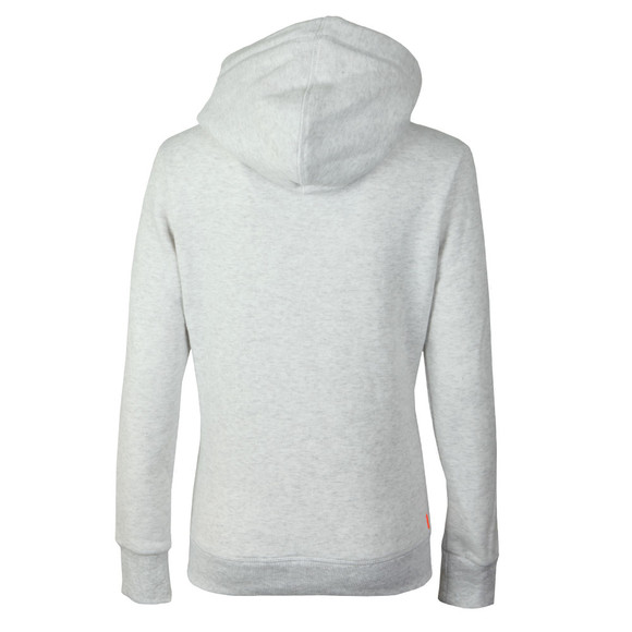 Superdry Womens White Premium Sequin Entry Hoody main image