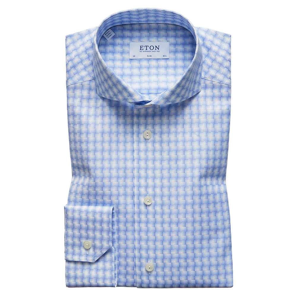 Slim Check Twill Shirt main image