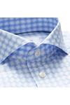 Eton Mens Blue Slim Check Twill Shirt