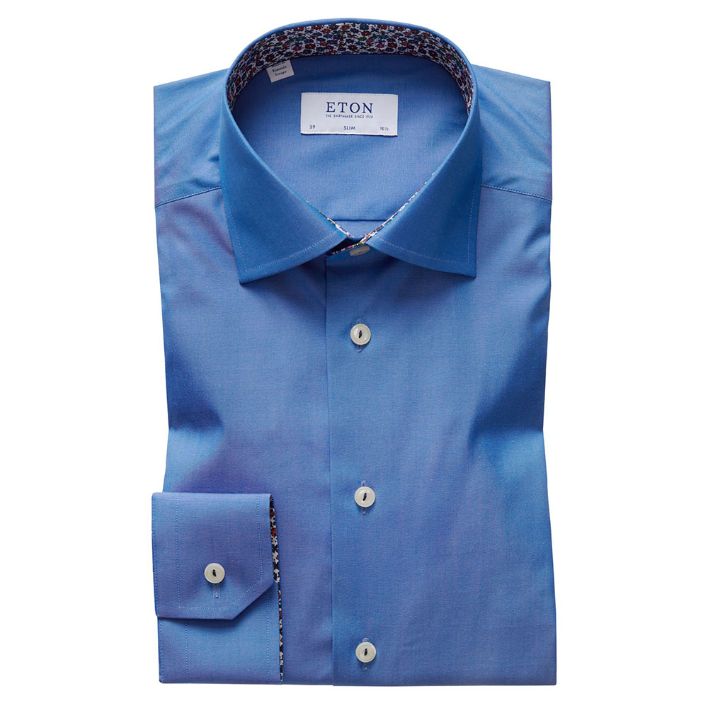 Floral Detail Slim Shirt main image