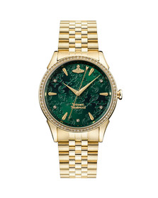 Vivienne Westwood Womens Gold The Wallace Ladies Watch