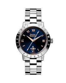 Vivienne Westwood Womens Blue Bloomsbury VV152NVSL Watch
