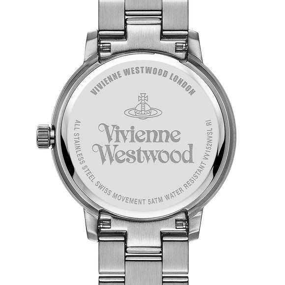 Vivienne Westwood Womens Blue Bloomsbury VV152NVSL Watch
