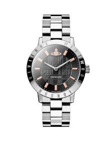 Vivienne Westwood Womens Grey Bloomsbury VV152CHSL Watch