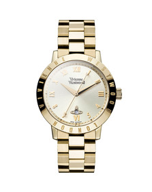 Vivienne Westwood Womens Gold Bloomsbury Watch