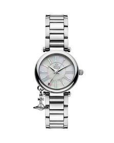 Vivienne Westwood Womens Silver Mother Orb VV006PSLSL Watch