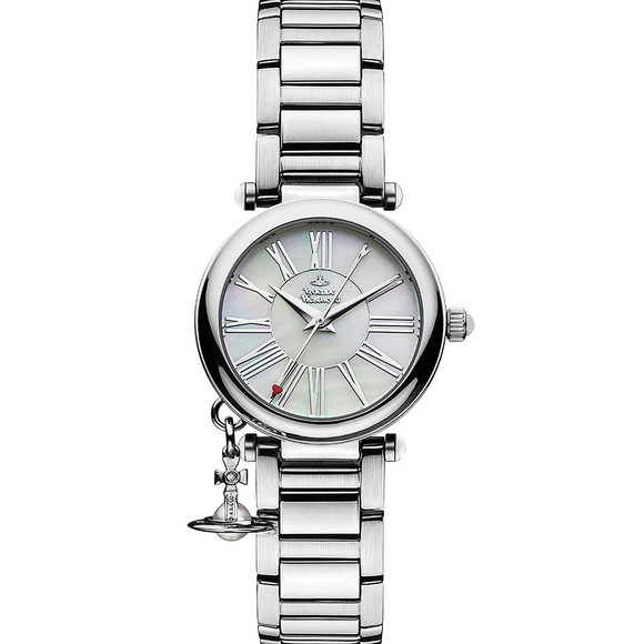 Vivienne Westwood Womens Silver Mother Orb VV006PSLSL Watch main image
