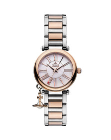 Vivienne Westwood Womens Pink Mother Orb VV006PRSSL Watch