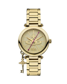 Vivienne Westwood Womens Gold Kensington VV006KGD Watch