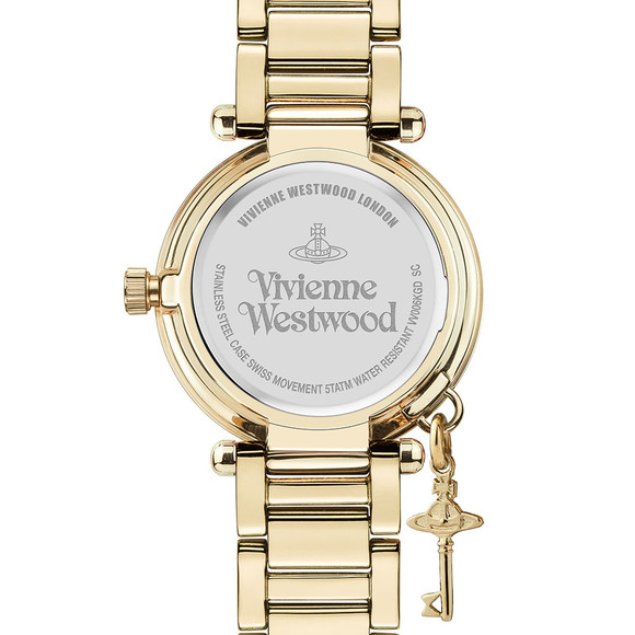 Vivienne Westwood Womens Gold Kensington VV006KGD Watch main image