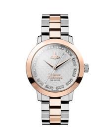 Vivienne Westwood Womens Pink Bloomsbury VV152SRSSL Watch