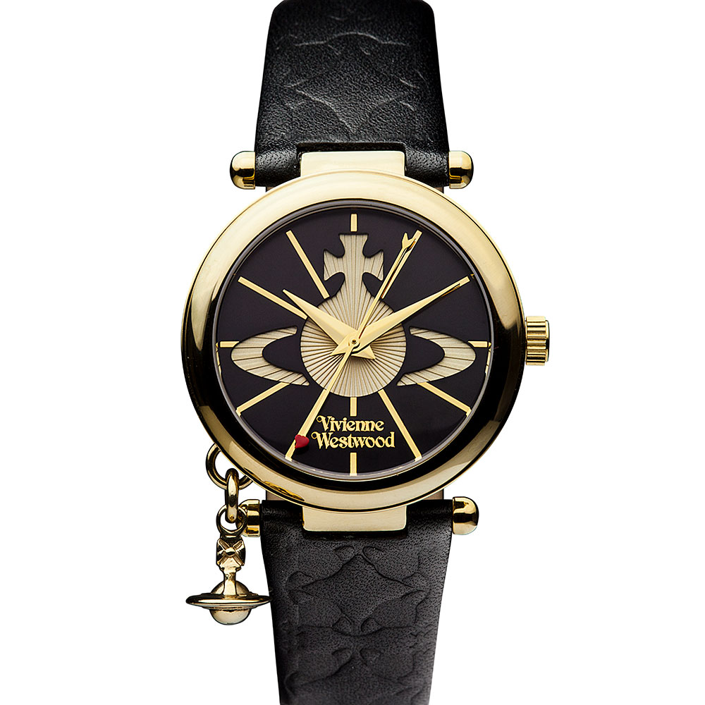 Orb II Gold Plated Watch main image