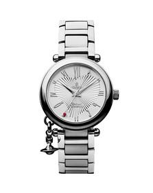Vivienne Westwood Womens Silver Orb VV006SL Watch