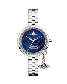 Vivienne Westwood Womens Silver Bow II VV139NVSL Watch