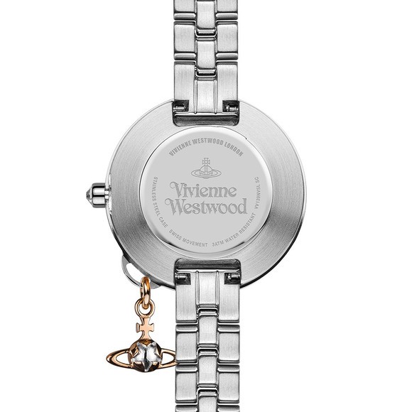 Vivienne Westwood Womens Silver Bow II VV139NVSL Watch main image