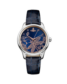 Vivienne Westwood Womens Blue Fitzrovia Watch