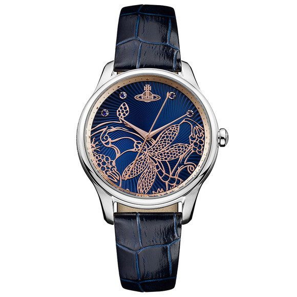Vivienne Westwood Womens Blue Fitzrovia Watch main image