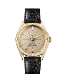 Vivienne Westwood Unisex Black Conduit VV192GDBK Watch