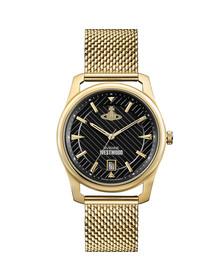 Vivienne Westwood Mens Gold Holborn VV185BKGD Watch