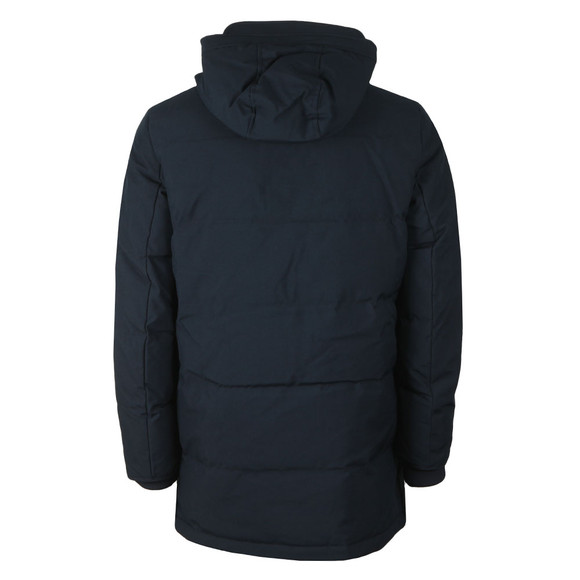 Tommy Hilfiger Mens Blue Heavy Canvas Down Jacket main image