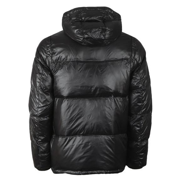 Tommy Hilfiger Mens Black Shiny Hooded Down Jacket main image