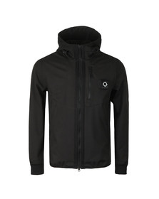 Ma.Strum Mens Black Titan Soft Shell Jacket