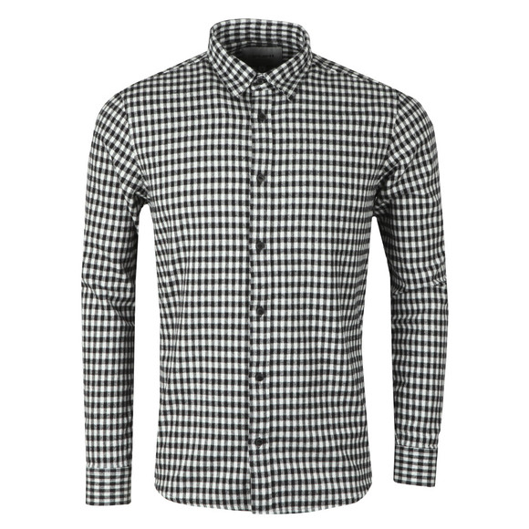 Carhartt WIP Mens Black Stawell Check Long Sleeve Shirt main image